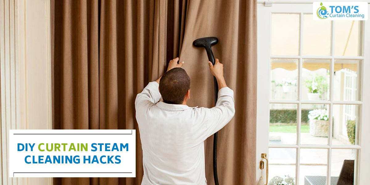 DIY Curtain Steam Cleaning Hacks