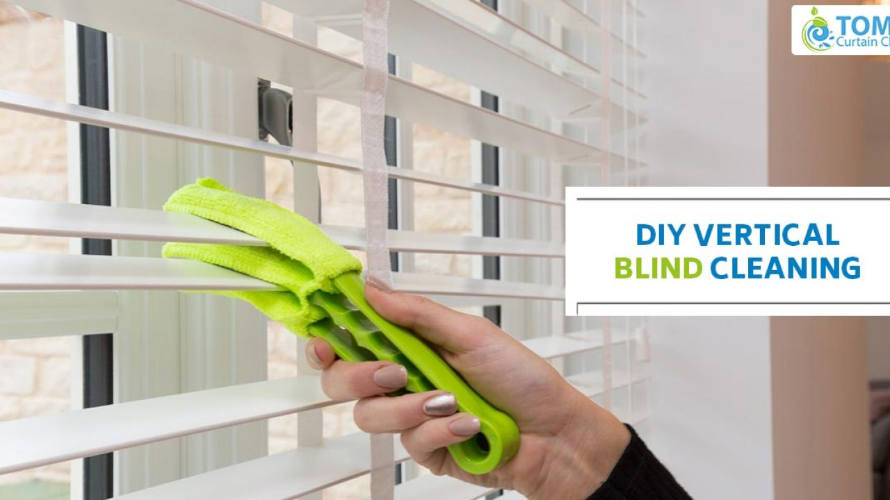 Do It Yourself Vertical Blind Cleaning How To