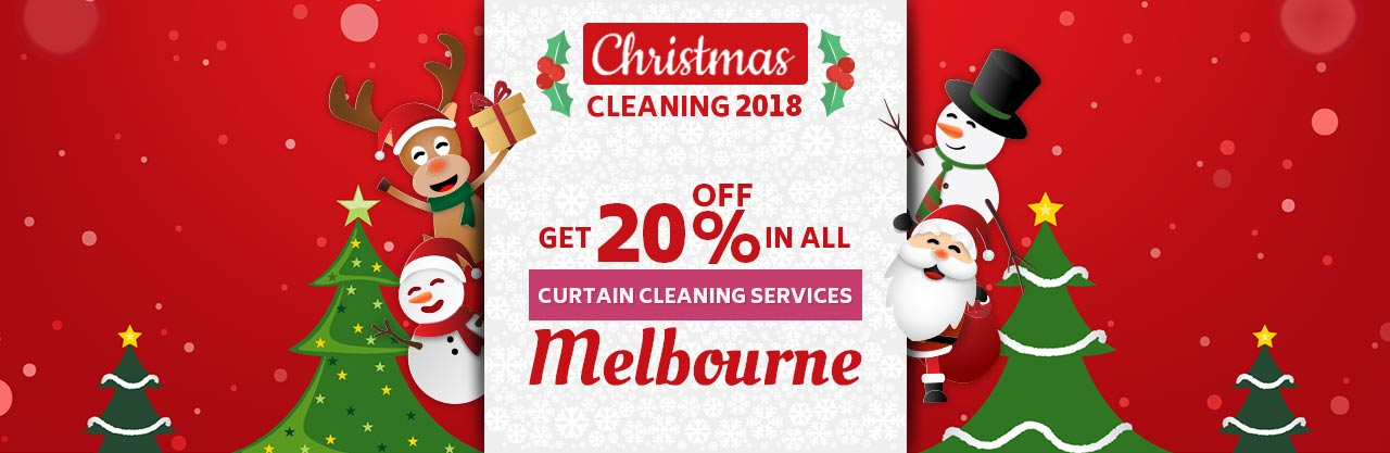 Christmas Curtain Melbourne Cleaning