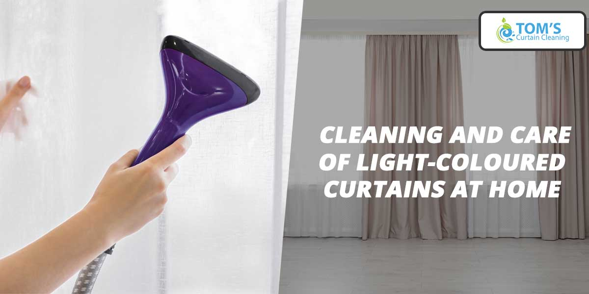 Cleaning and Care of Light-Coloured Curtains at Home